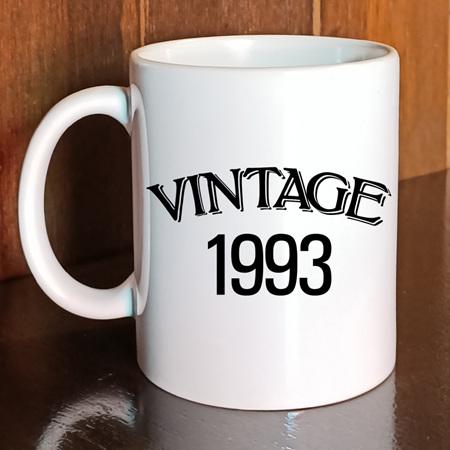 Vintage Birth Year Mug
