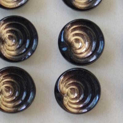 Set x 6 glass buttons