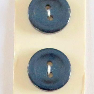 Six blue buttons