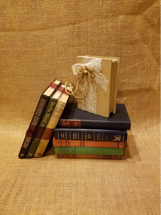Vintage books wedding and event hire