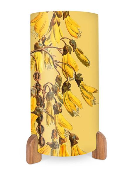 Vintage Botanical Kowhai Table Lamp