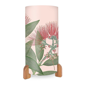 Vintage Botanical Puhutakawa Table Lamp