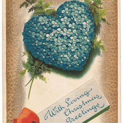 With Loving Christmas Greetings