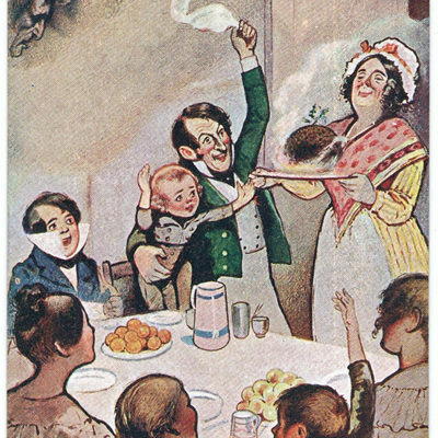 Bob Cratchit's Christmas Dinner