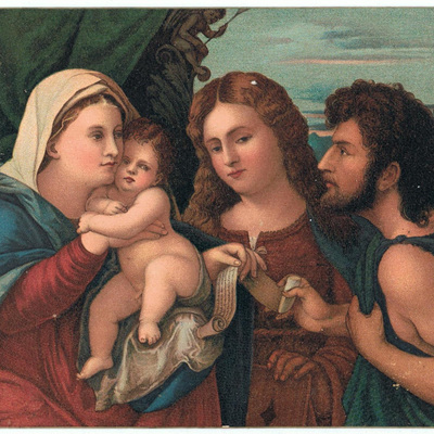 The Virgin Holy Child and Wise Men