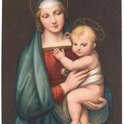 La Madonna Dettal Del Granduca