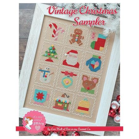 Vintage Christmas Sampler by Lori Holt