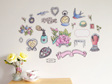Vintage Correspondence Mini Mural wall decal