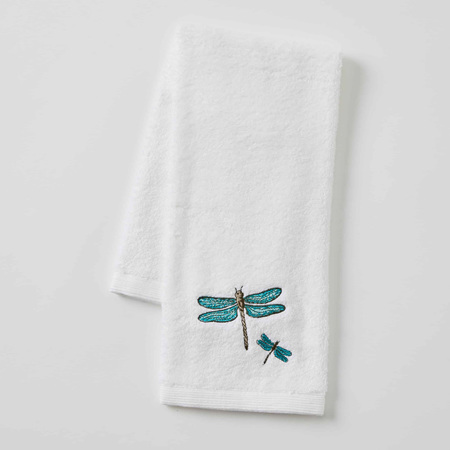 VINTAGE DRAGONFLY HAND TOWEL
