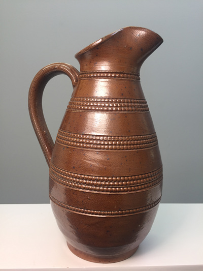 Vintage French Pottery Water/ Wine Jug