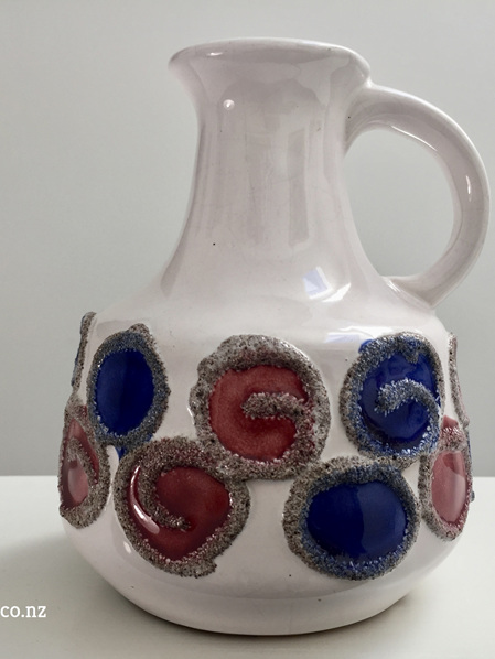 Vintage German Polka Dot Jug by VEB Haldensleben