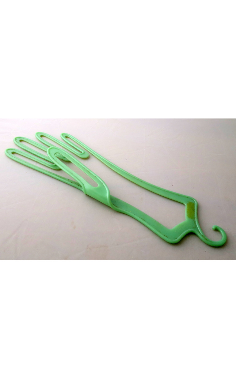 Vintage glove hangers