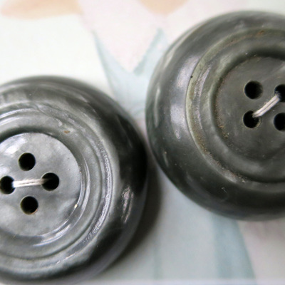 Deep profile grey buttons