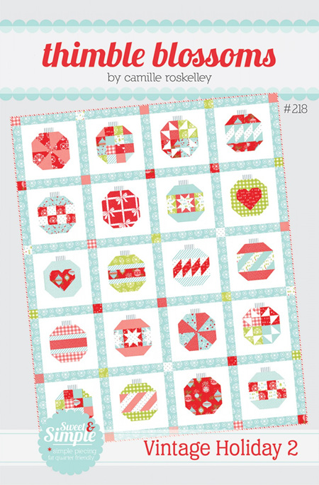 Vintage Holiday 2 Quilt Pattern