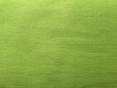 Vintage Italian Linen Cotton Blend Fabric - Lime Green