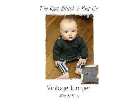 Vintage Jumper Pattern
