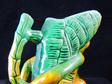 Vintage Majolica Pottery Monkey Jug