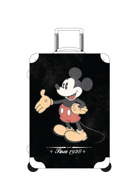 Vintage Mickey Mouse Hard Case Size L  Sold Out