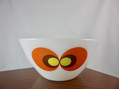 Vintage Schott Mainz Glass Jena Serving Bowl  20cm