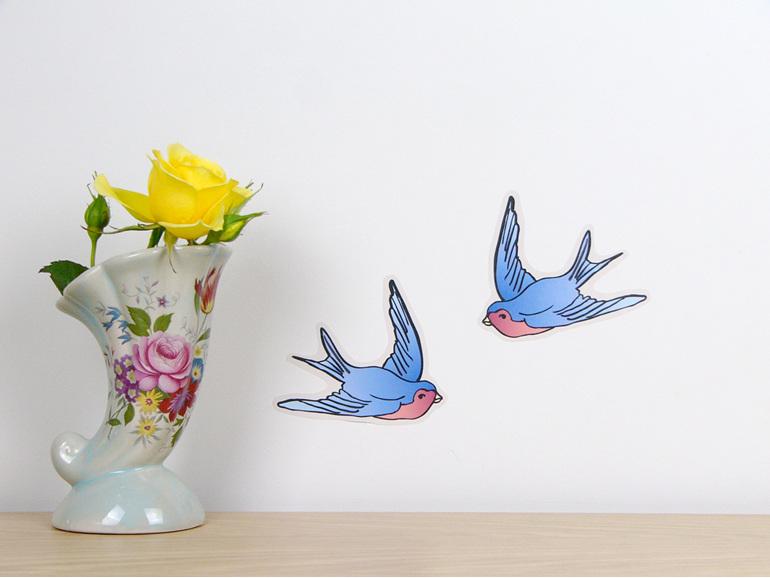 Vintage Swallows