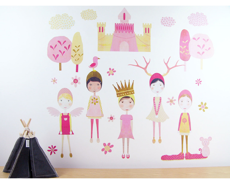 Vintage Timepieces StickyTiny wall decal