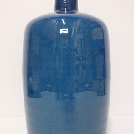 Vintage urn Blue C0866