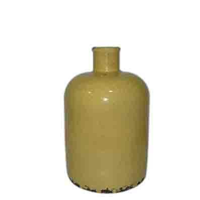 Vintage urn - mustard