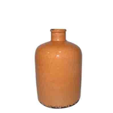 Vintage urn - Tangerine