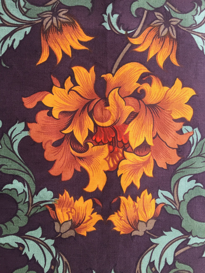 Vintage Wardle Fabric in Chatsworth Floral Pattern - 126cm x 290cm