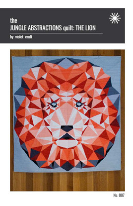 Violet Craft - Lion Abstractions