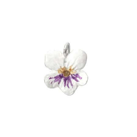 Violet Flower Charm