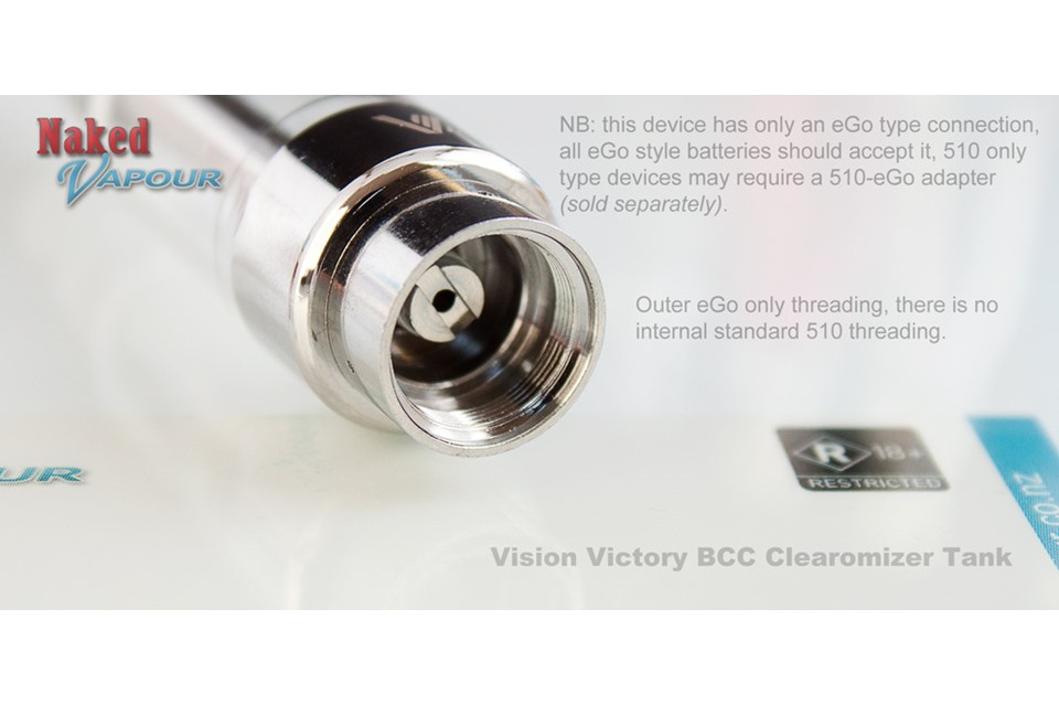 Vision Victory BCC Head - Naked Vapour