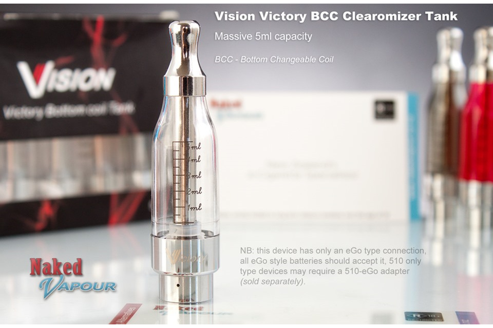 Vision Victory BCC - 5ml - DISCONTINUED - Naked Vapour