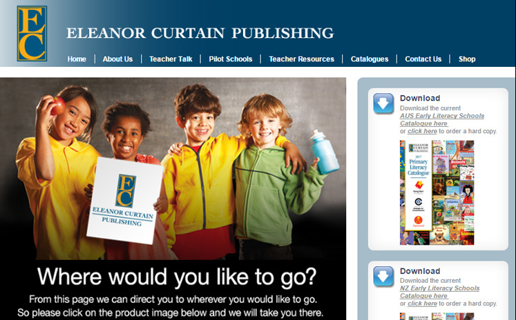 Visit Eleanor Curtain to browse resources