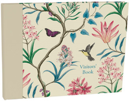 Visitor book - hummingbird, Roger la Borde