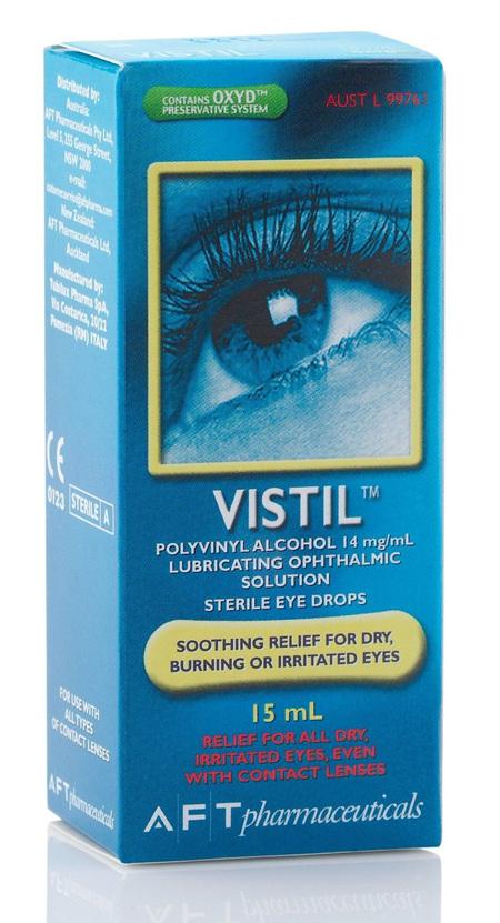 Vistil Eye Drops 15ml