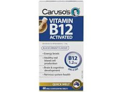 VIT B12 ACTIVATED 1200Mg 60S