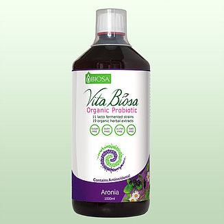 Vita Biosa Organic Probiotic 1000ml - Aronia