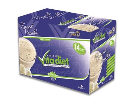 Vita Diet French Vanilla Shake x 14