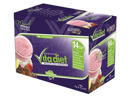 Vita Diet Mixed Box Shakes