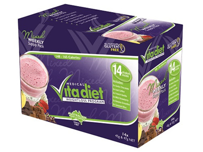 Vita Diet Mixed Box Shakes