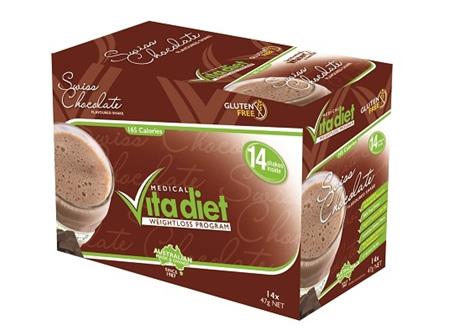 Vita Diet Swiss Chocolate Shake x 14