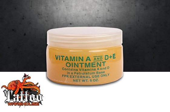 Vitamin A D E Ointment For Tattoos Tattoo Warehouse Ltd