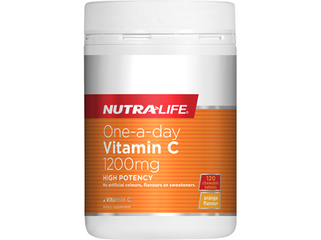 Vitamin C 1200mg One A Day Chewable