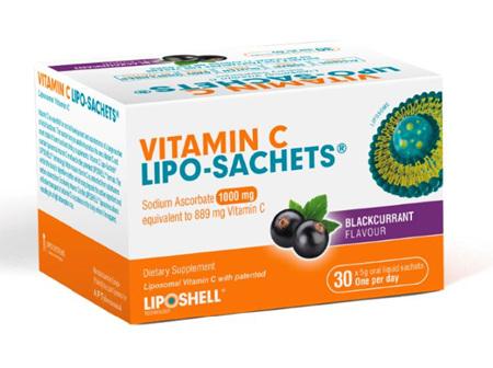 Vitamin C Lipo-Sachet®  Blackcurrant 1000MG