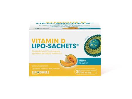 Vitamin D Lipo-Sachets 1000IU