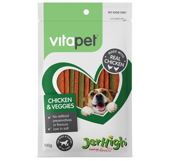 Vitapet Chicken & Vege Sticks