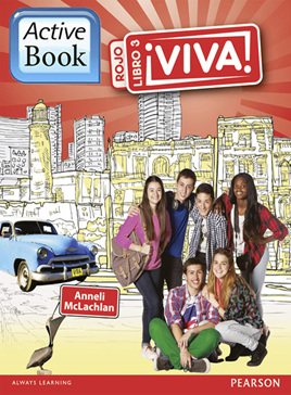 Viva! 3 Rojo ActiveBook International Subscription