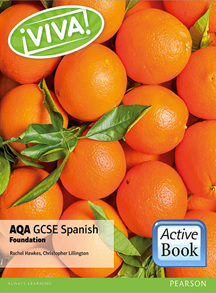 Viva! AQA GCSE Spanish Foundation ActiveBook International Subscription