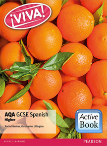Viva! AQA GCSE Spanish Higher ActiveBook International Subscription